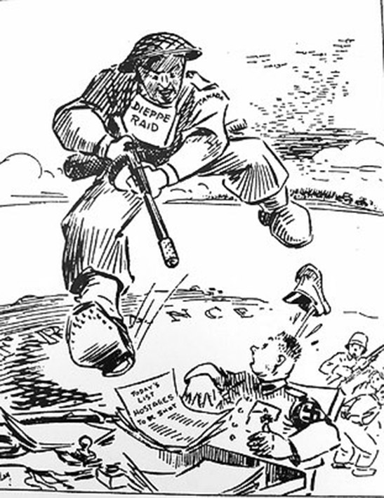 Click image for larger version.  Name:01.00. 1 dieppe raid cartoon 2.jpg Views:18 Size:132.1 KB ID:2121258