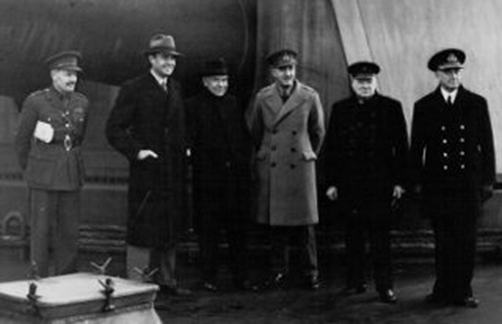 Click image for larger version.  Name:01.00. 10 f 2 Sir Dudley Pound, Winston Churchill, Sir John Dill, Lord Beaverbrook, Mr Harriman .jpg Views:2 Size:120.2 KB ID:2146442