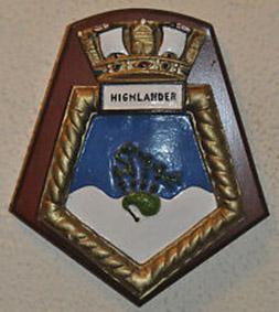 Click image for larger version.  Name:01.00. 25 01 HMS Highlander crest.jpg Views:1 Size:47.3 KB ID:2153834