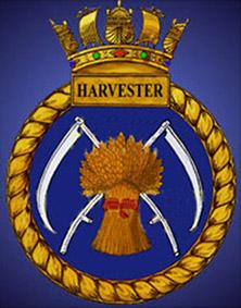 Click image for larger version.  Name:01.00. 25 02 HMS Harvester crest.jpg Views:1 Size:57.7 KB ID:2153850