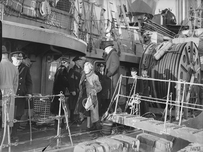 Click image for larger version.  Name:01.00. 3 0 3 HMS Napier Mrs Churchill, Lady Halifax and Lord Halifax boarding 1.jpg Views:5 Size:260.9 KB ID:2130026