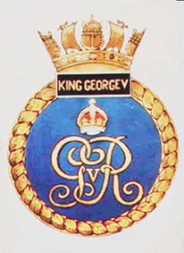 Click image for larger version.  Name:01.00. 3 0 5 a 1 HMS King George V Badge.jpg Views:2 Size:101.2 KB ID:2130074