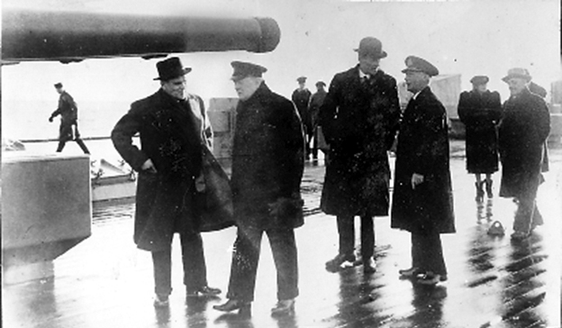 Click image for larger version.  Name:01.00. 3 0 6 a 3 HMS King George V 15 January 1941 Churchill talks with Harry Hopkins, Lord Hali.jpg Views:5 Size:129.4 KB ID:2130090