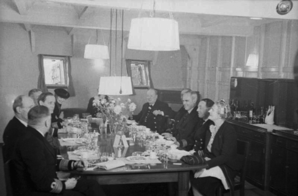 Click image for larger version.  Name:01.00. 3 0 6 a 3 HMS King George V Churchill and Admiral John C Tovey at luncheon on board 1.jpg Views:3 Size:241.0 KB ID:2130098