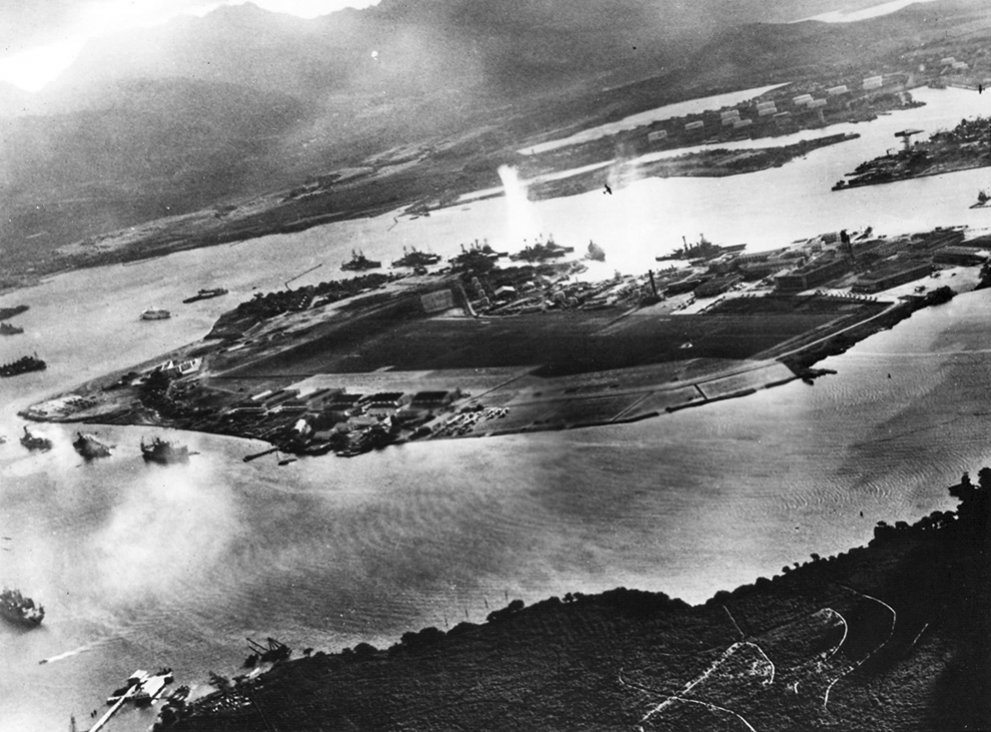 Click image for larger version.  Name:01.00. 3 4 1 2 Photo from a captured Japanese aircraft taken during the initial moments of the J.jpg Views:4 Size:146.6 KB ID:2135778