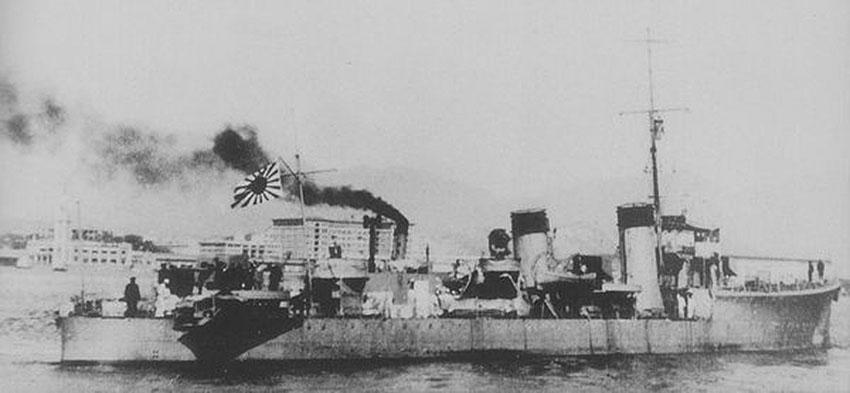 Click image for larger version.  Name:01.00. 53 04 8 11 Hongkong HMS Thracian as IJN Patrol Boat No. 101 in 1942.jpg Views:1 Size:57.9 KB ID:2159122