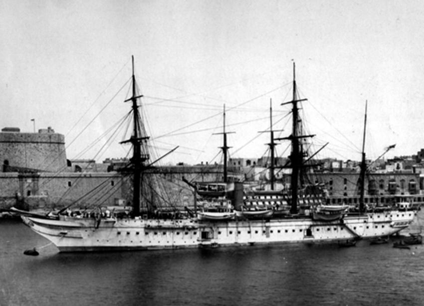 Click image for larger version.  Name:01.00. 53 04 8 19 Hongkong HMS Tamar at Malta, 1882 3.jpg Views:4 Size:216.1 KB ID:2159194