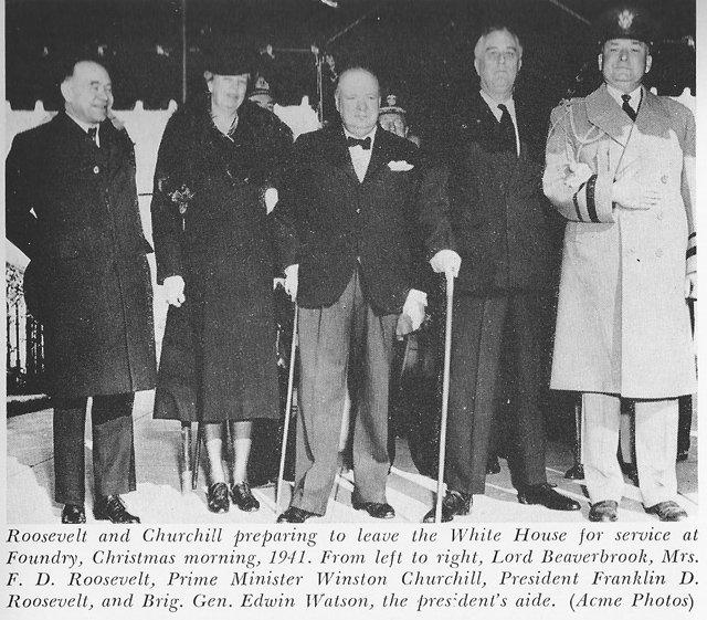 Click image for larger version.  Name:01.00. 53 12 Beaverbrook, Mrs. Roosevelt, Churchill, Roosevelt and his aide General Edwin Watson.jpg Views:2 Size:220.8 KB ID:2161410