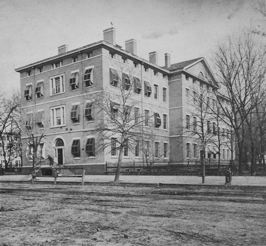 Click image for larger version.  Name:01.00. 53 21 2 a War Department Building 1870.jpg Views:2 Size:177.9 KB ID:2161618