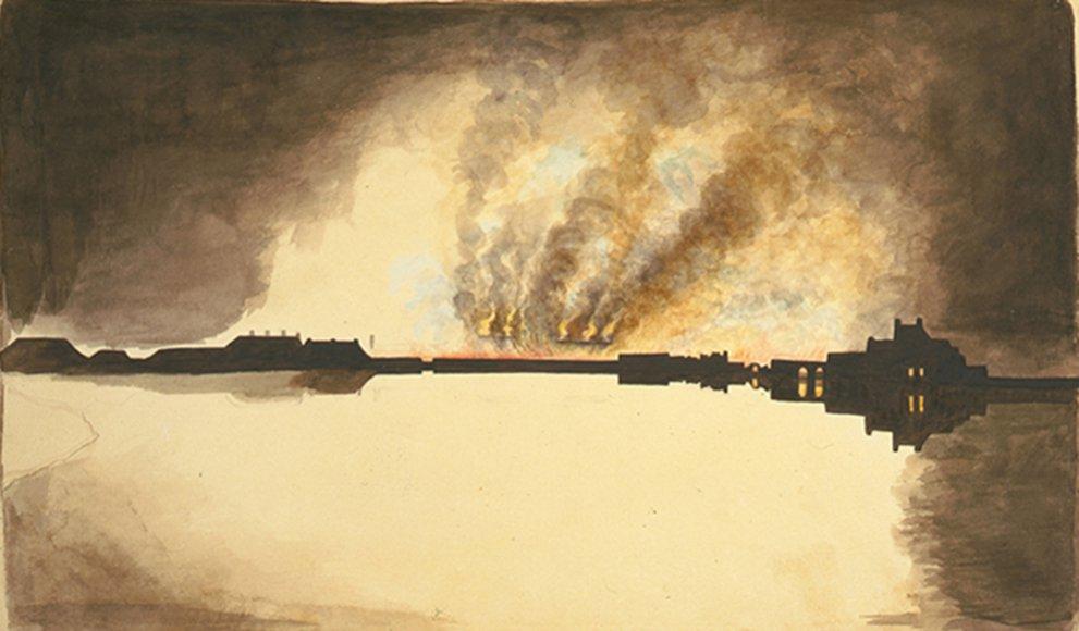 Click image for larger version.  Name:01.00. 53 21 5 burning of the Washington Navy Yard, 1814, Anacostia River, Washington 3.jpg Views:2 Size:76.3 KB ID:2161666