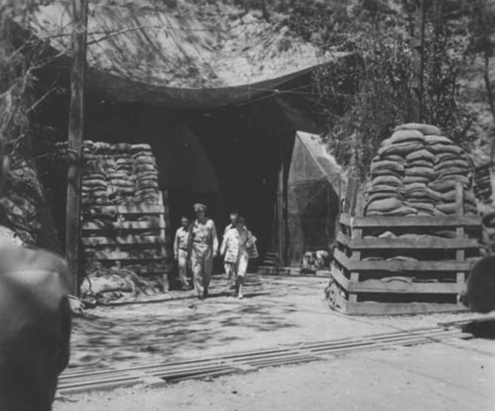 Click image for larger version.  Name:01.00. 6 a 2 General Douglas and Mrs. MacArthur exit the Malinta Tunnel, Corregidor, December, 1.jpg Views:2 Size:95.2 KB ID:2138426