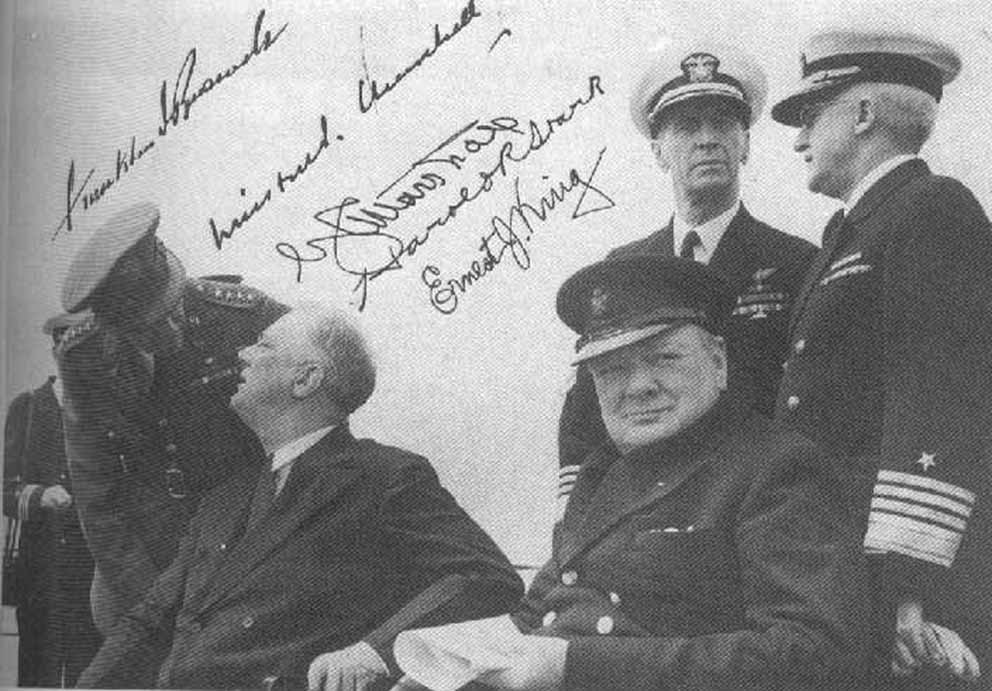 Click image for larger version.  Name:01.00. 6 b Admiral Ernest Joseph King (directly behind Churchill) 1941.jpg Views:2 Size:103.0 KB ID:2138434