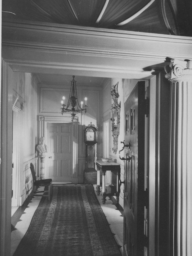 Click image for larger version.  Name:01.00. 66 1 Blair House front door opening on the entrance hall as it looked to the first offici.jpg Views:2 Size:241.5 KB ID:2172426