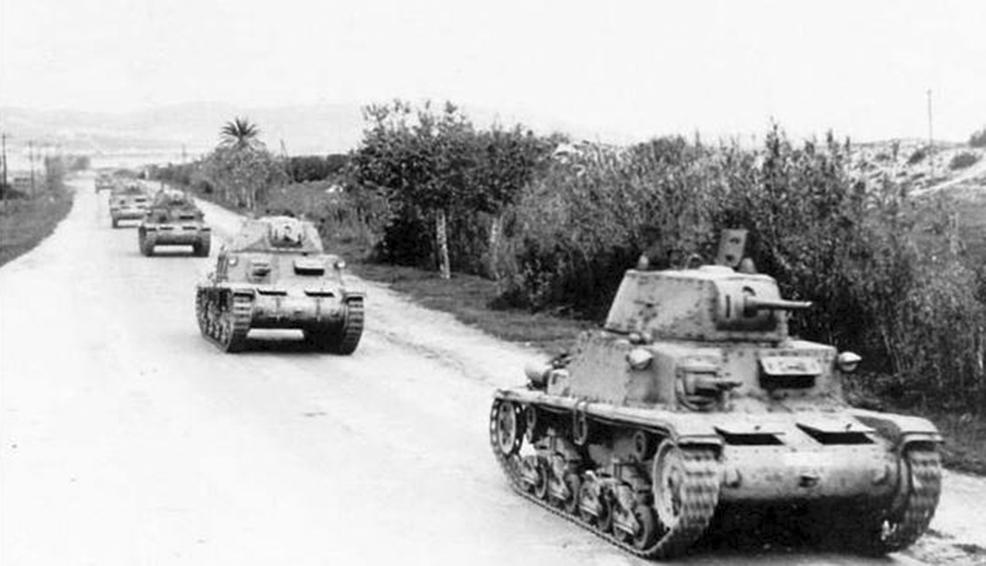 Click image for larger version.  Name:01.04. 1 1 11 d 2 Gazala Italian M14-41 medium tank.jpg Views:1 Size:213.3 KB ID:2231130