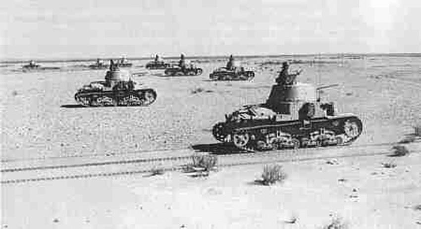 Click image for larger version.  Name:01.04. 1 1 25 Bir Hakeim Ita Ariete Division tanks 1.jpg Views:1 Size:91.4 KB ID:2236658