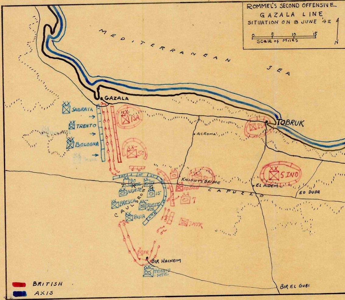 Click image for larger version.  Name:01.04. 1 1 53 gazala battle map 4 of 8 June 1.jpg Views:1 Size:197.8 KB ID:2239514