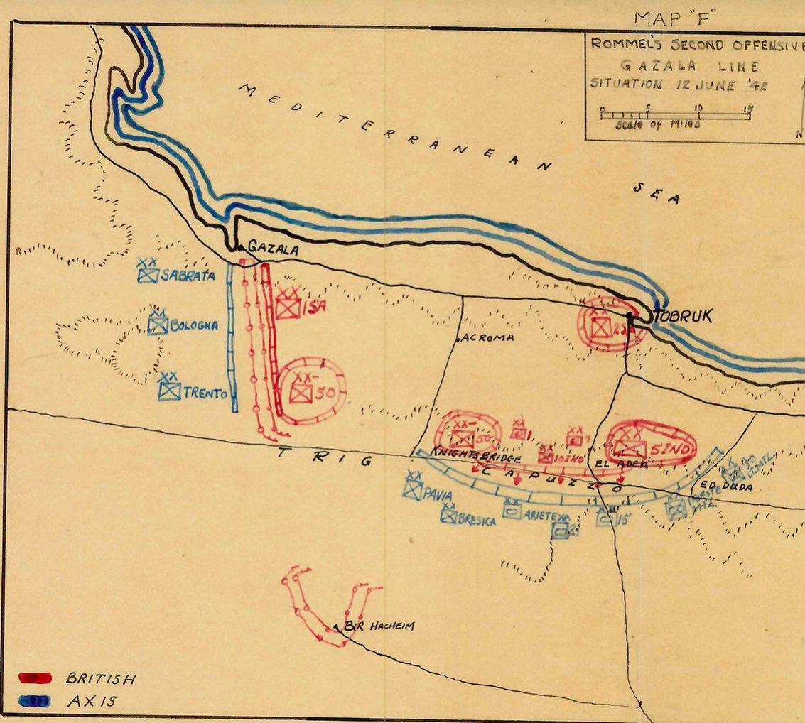 Click image for larger version.  Name:01.04. 1 1 71 gazala battle map 5 of 12 June 1.jpg Views:2 Size:196.6 KB ID:2239602