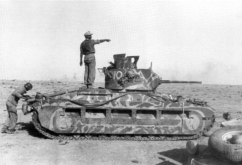 Click image for larger version.  Name:01.04. 1 1 73 captured Matilda II tank Gazala 2.jpg Views:1 Size:185.1 KB ID:2239642