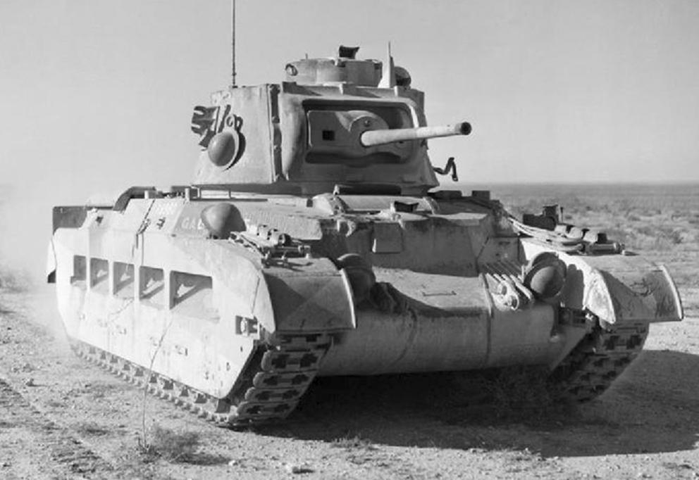 Click image for larger version.  Name:01.04. 1 1 8 c Bir Hakeim Mathilda II tank 1.jpg Views:1 Size:249.9 KB ID:2228706