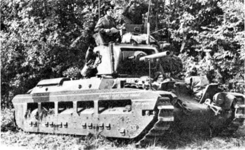 Click image for larger version.  Name:01.04. 1 1 8 c Bir Hakeim Mathilda IICS tank 1.jpg Views:1 Size:128.3 KB ID:2228714