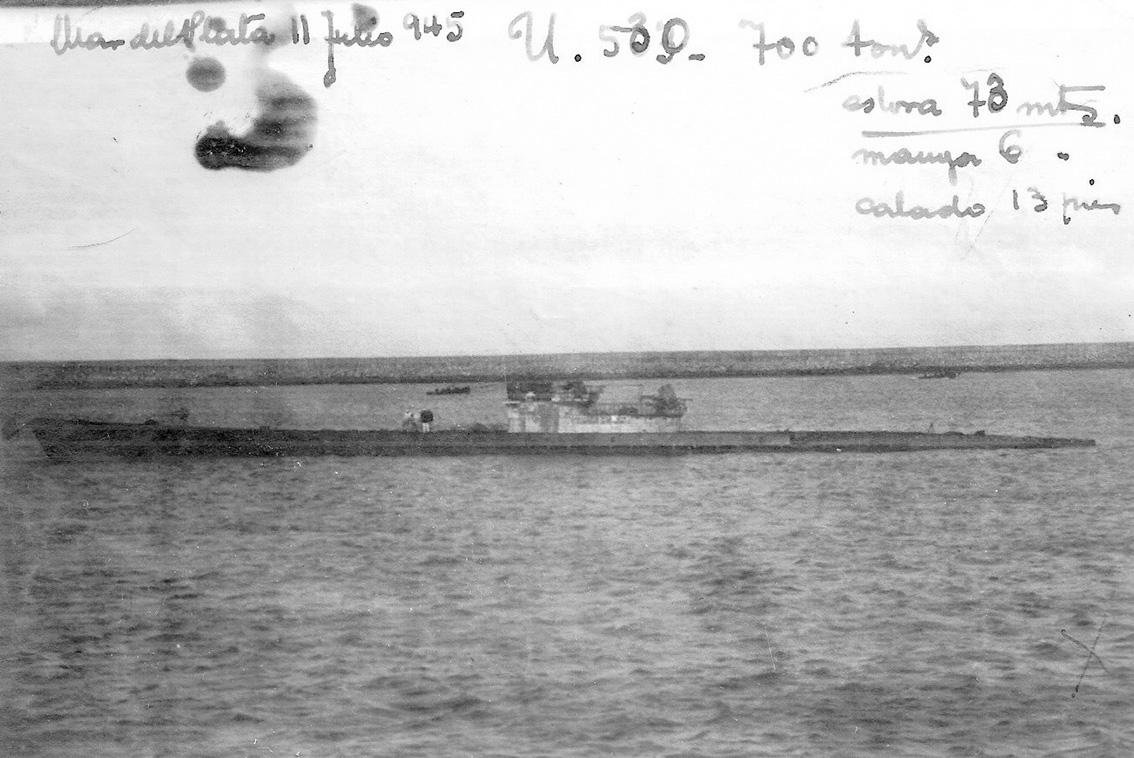 Click image for larger version.  Name:01.04. 1 4 o 10 Base Naval Mar del Plata German submarine U-530 2.jpg Views:1 Size:264.3 KB ID:2317242