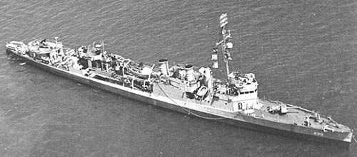 Click image for larger version.  Name:04 U-134 plane 21 August 1943 USS Paul Jones as modified for escort duties.jpg Views:5 Size:25.8 KB ID:553639