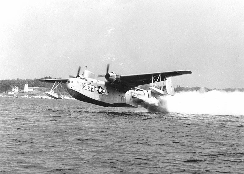 Click image for larger version.  Name:04 U-134 plane 8 July 1943 PBM 35 Coast Guard PBM takes off.jpg Views:1 Size:74.7 KB ID:553628