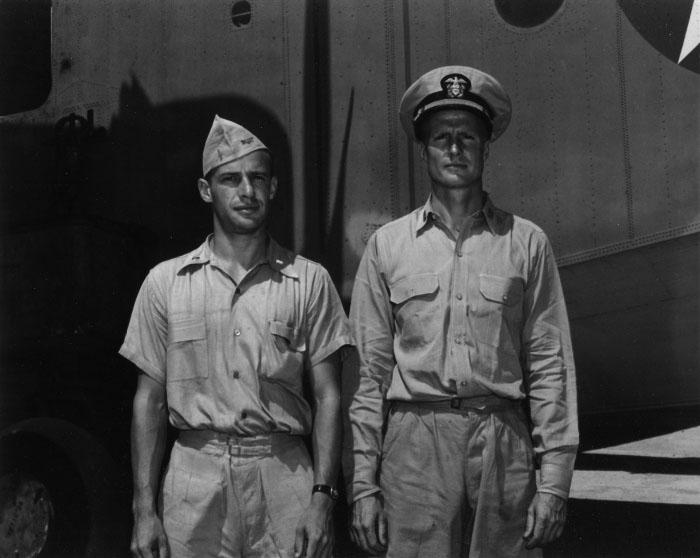 Click image for larger version.  Name:04 U-134 plane 8 July 1943 PBM 35 LTJG J. T. Hitchcock (co-pilot) and LT W.W. Soverel (pilot).jpg Views:1 Size:65.9 KB ID:553629