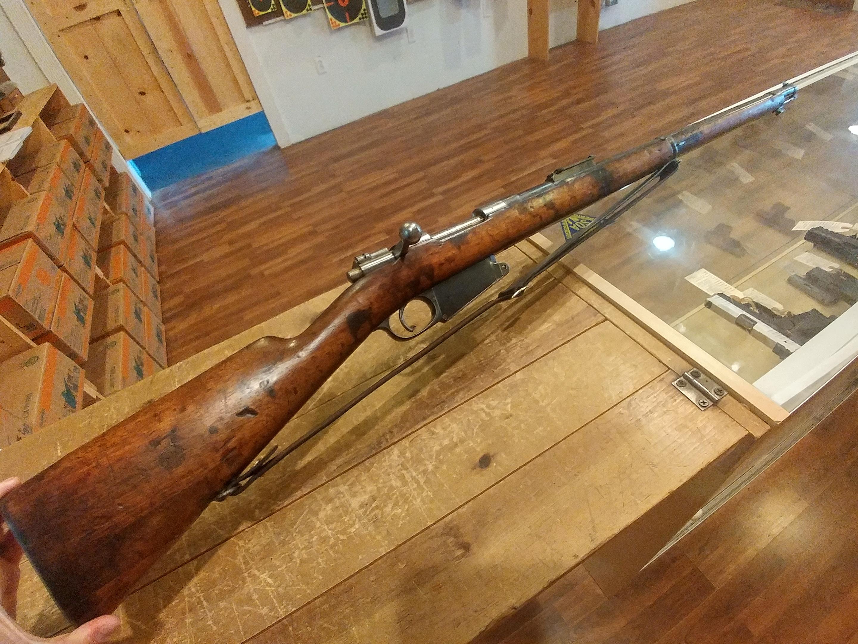 Value/Info request: Belgian FN M1889 German WW1 capture