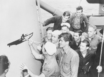 Click image for larger version.  Name:06 04 06 USS Moberly U-Boat Kill U-853.jpg Views:1 Size:26.9 KB ID:554359