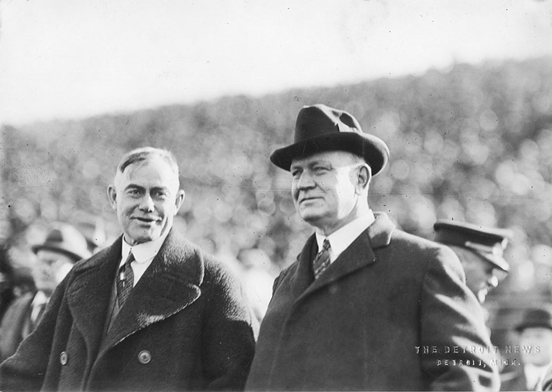 Click image for larger version.  Name:1. 0 0 1 Edwin Denby, Secretary of the Navy, with Coach Fielding Yost at a 1923 University of Mi.jpg Views:2 Size:78.0 KB ID:3674997