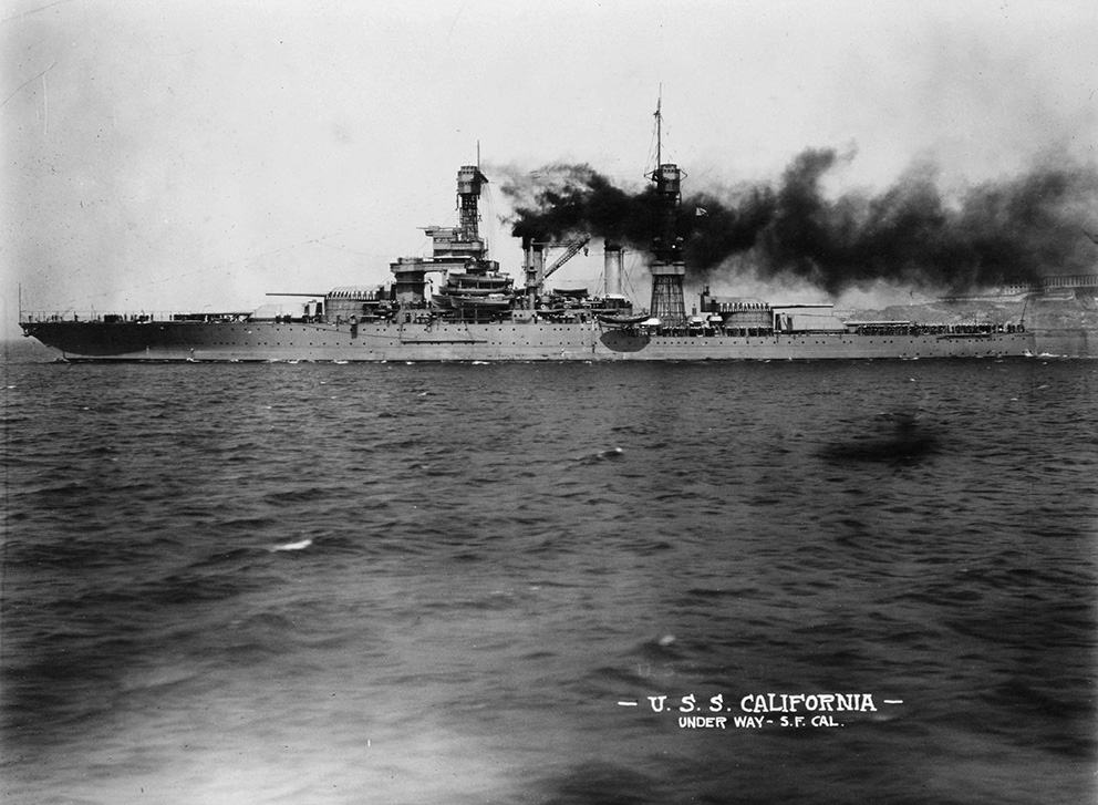 Click image for larger version.  Name:1. 0 3 USS California 1 off San Franciscoin late 1921.jpg Views:2 Size:233.8 KB ID:3675049