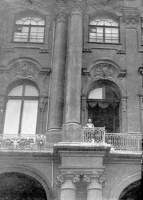 Click image for larger version.  Name:1. 1 1 4 0 3 2 Tsar Nicholas II on the balcony of the Winter Palace 20 July, 1914 Julian Calenda.jpg Views:1 Size:81.5 KB ID:3646077