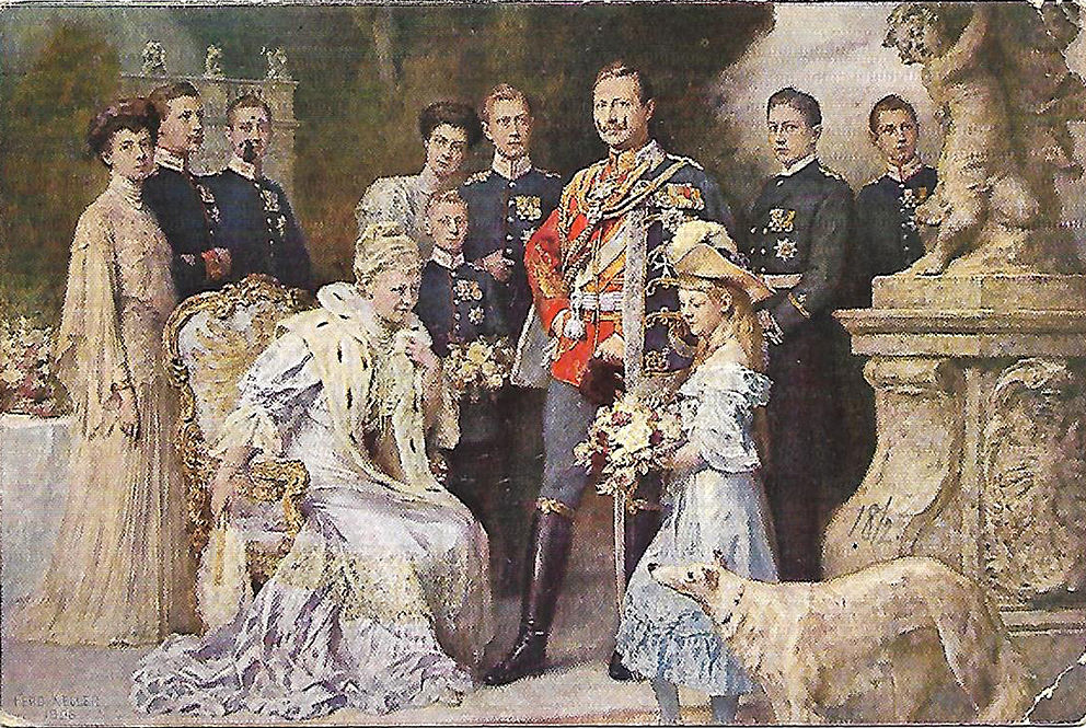Click image for larger version.  Name:1. 1 1 4 0 4 1 Emperor Wilhelm II and family 1906.jpg Views:1 Size:891.4 KB ID:3646617