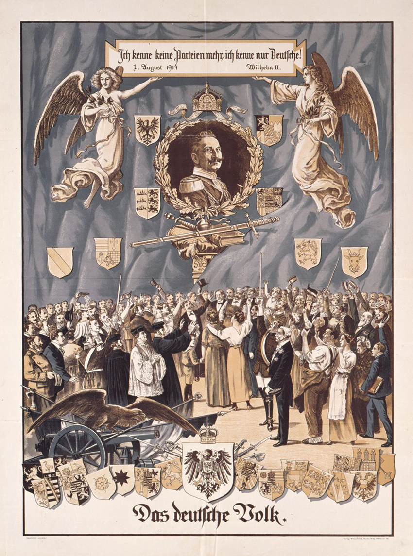 Click image for larger version.  Name:1. 1 1 4 0 4 2 Speech of Emperor Wilhelm II 1 August 1914 poster.jpg Views:1 Size:818.6 KB ID:3646633