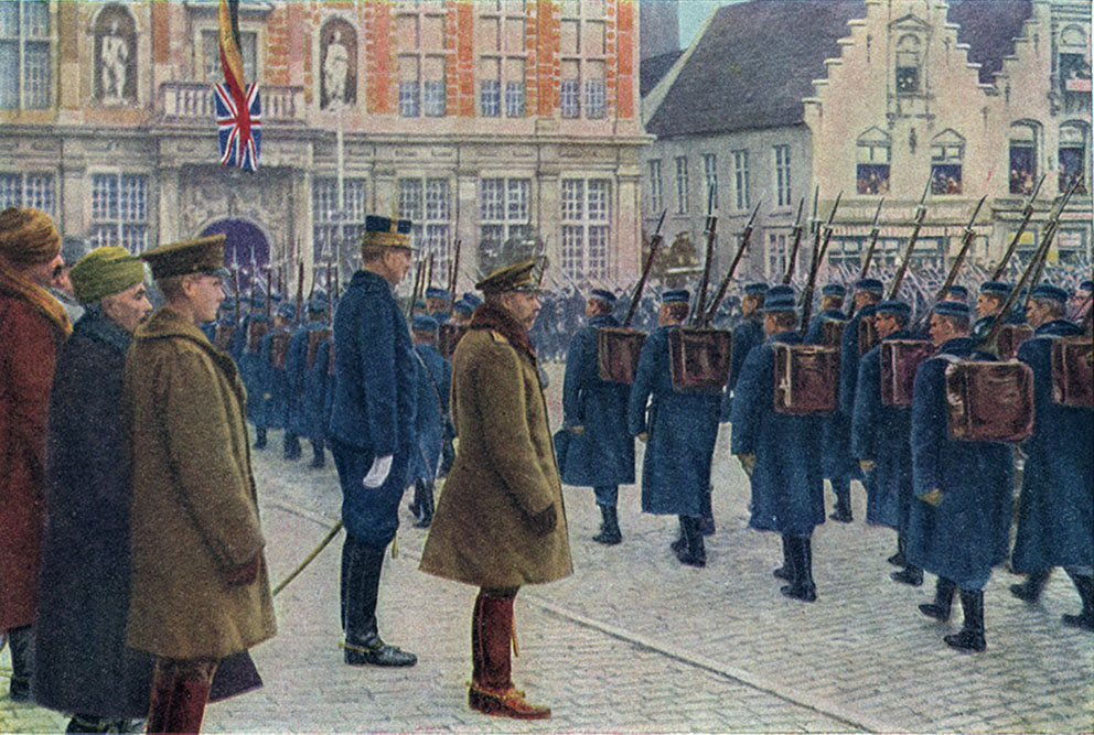 Click image for larger version.  Name:1. 1 1 4 1 1 King George V with King Albert I in Belgium.jpg Views:1 Size:233.9 KB ID:3646651
