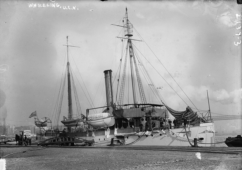 Click image for larger version.  Name:1.1. 1 5 USS Wheeling (Gunboat No. 14).jpg Views:2 Size:170.6 KB ID:3676171