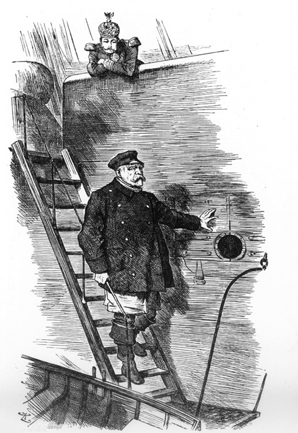 Click image for larger version.  Name:1. 1 1 7 1 5 Otto von Bismarck, Punch-cartoon Dropping the Pilot.jpg Views:2 Size:318.8 KB ID:3647335