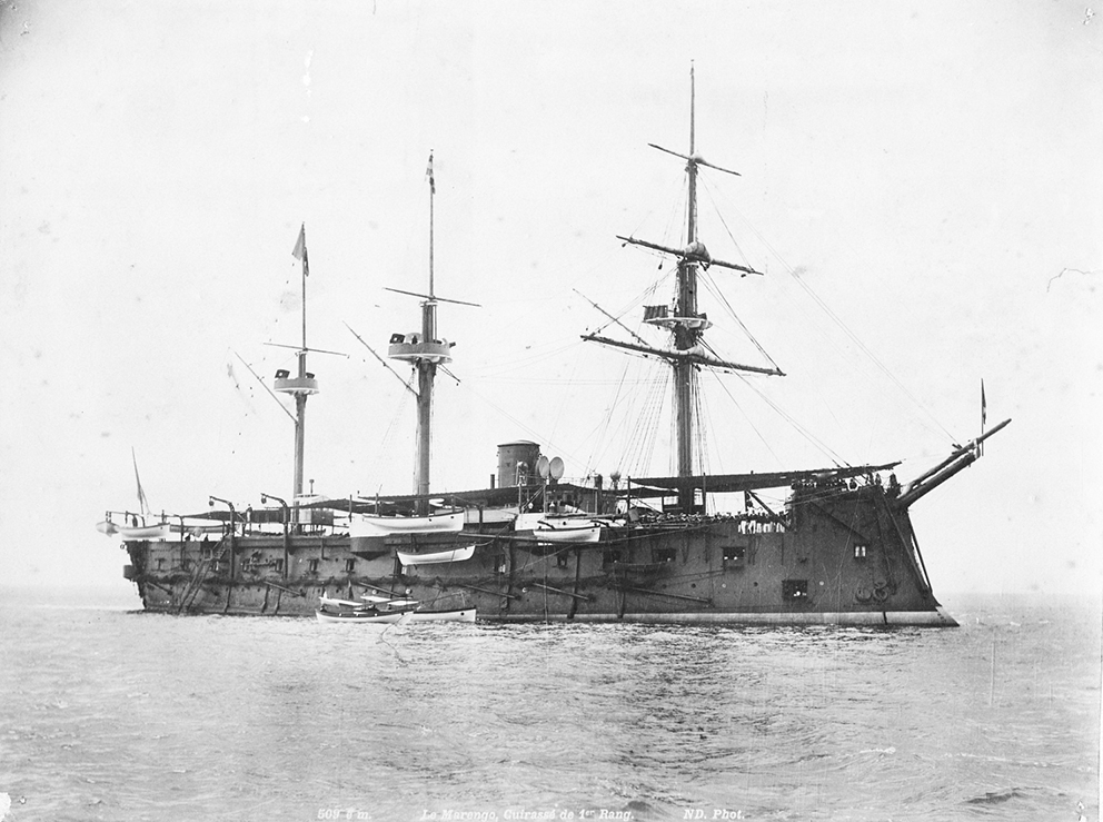 Click image for larger version.  Name:1. 1 1 7 2 0 5 1 Northern Fleet cuirassé Marengo 1.jpg Views:2 Size:383.5 KB ID:3648139