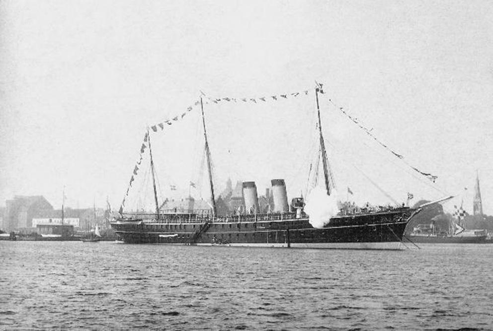 Click image for larger version.  Name:1. 1 1 7 2 0 7 5 Imperial Yacht Polyarnaya Zvezda visiting Copenhagen, Denmark (1890).jpg Views:1 Size:164.1 KB ID:3648171