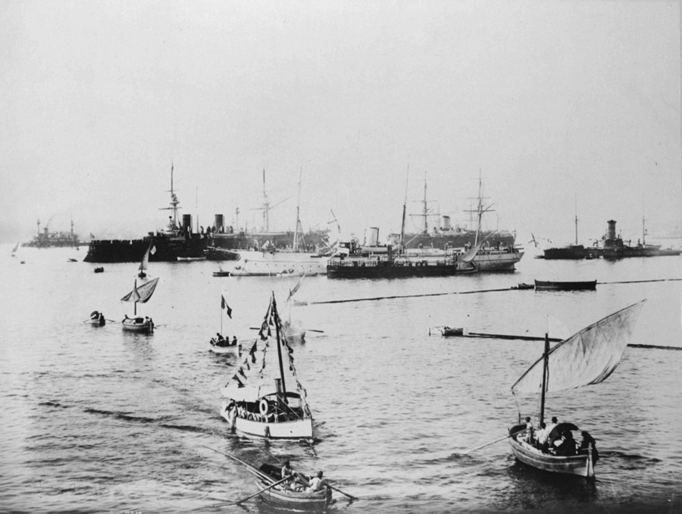 Click image for larger version.  Name:1. 1 1 7 2 2 1 Baltic fleet  1 arrival in Toulon 1.jpg Views:1 Size:185.6 KB ID:3648889