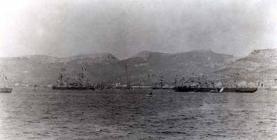 Click image for larger version.  Name:1. 1 1 7 2 2 1 Baltic fleet  1 arrival in Toulon 24.jpg Views:37 Size:17.4 KB ID:3648887