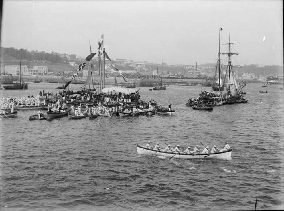 Click image for larger version.  Name:1. 1 1 7 2 2 1 Baltic fleet 13 Toulon 1893 French-Russian boat race 1b.jpg Views:1 Size:86.3 KB ID:3649871