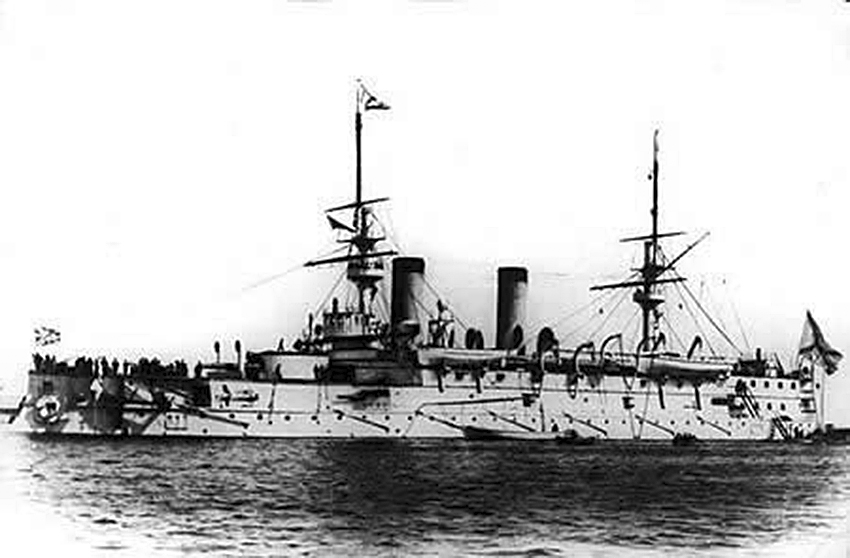 Click image for larger version.  Name:1. 1 1 7 2 2 1 Baltic fleet 5 battleship Imperator Nikolai I 2.jpg Views:1 Size:164.0 KB ID:3648903