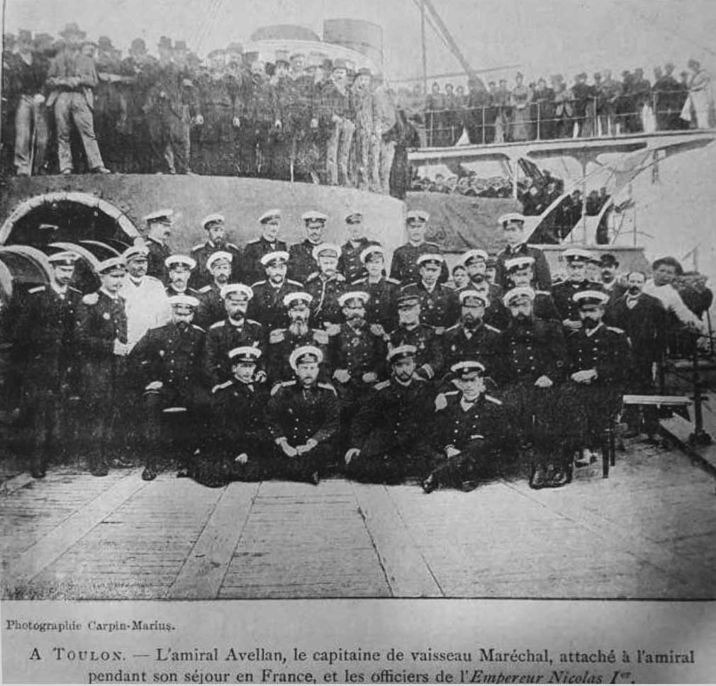 Click image for larger version.  Name:1. 1 1 7 2 2 1 Baltic fleet 5 battleship Imperator Nikolai I 5 Admiral Avellan and officers.JPG Views:1 Size:126.0 KB ID:3648909