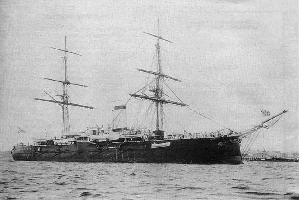 Click image for larger version.  Name:1. 1 1 7 2 2 1 Baltic fleet 6 armored cruiser Admiral Nakhimov 1.jpg Views:1 Size:317.2 KB ID:3648921
