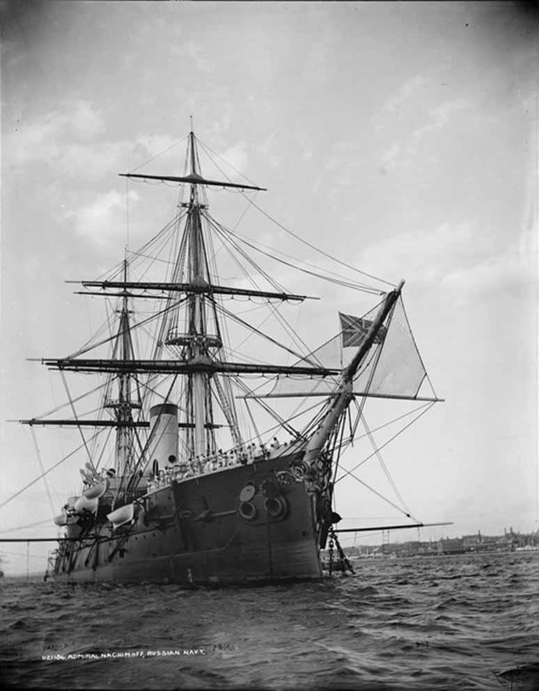 Click image for larger version.  Name:1. 1 1 7 2 2 1 Baltic fleet 6 armored cruiser Admiral Nakhimov 2.jpg Views:1 Size:68.6 KB ID:3648925