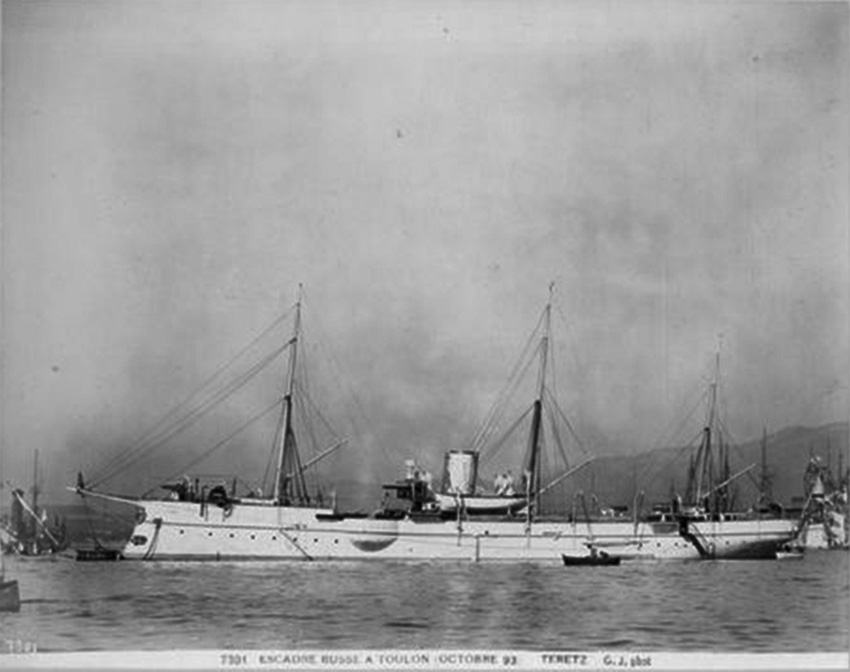 Click image for larger version.  Name:1. 1 1 7 2 2 1 Baltic fleet 7 gunboat Terets 1 in Toulon.jpg Views:1 Size:100.5 KB ID:3648937