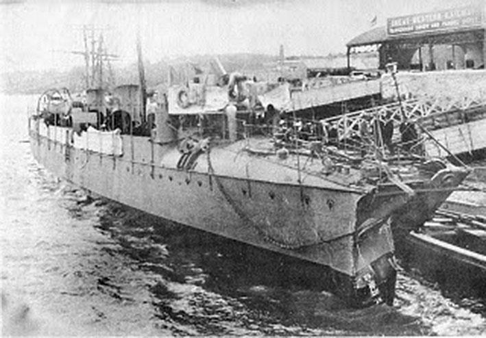 Click image for larger version.  Name:1.1. 2 1 0 0 1 Spanish Audaz Class 1 Torpedo Boat Destroyer Audaz damaged.JPG Views:2 Size:94.3 KB ID:3676207