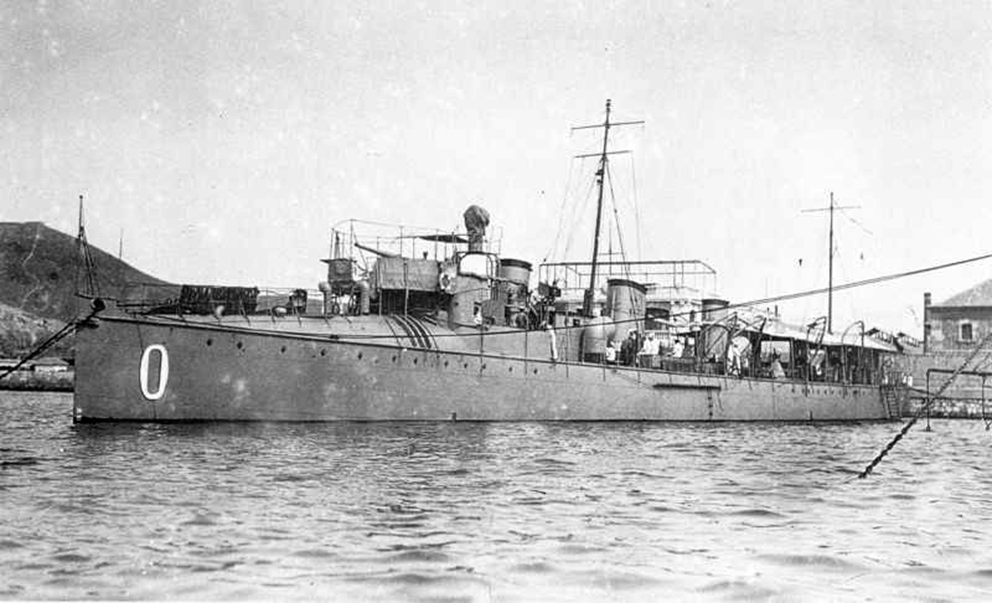 Click image for larger version.  Name:1.1. 2 1 0 0 1 Spanish Audaz Class 4 Torpedo Boat Destroyer Osado 2.jpg Views:2 Size:274.0 KB ID:3676211